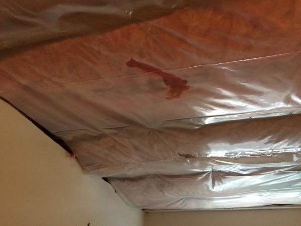 Cape Cod Upstairs Bathroom Dormer Insulation