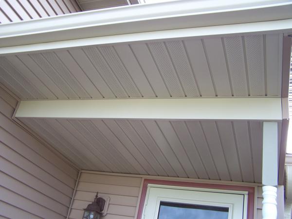 Correct To Put Some Fiberglass Insulation Over This Porch