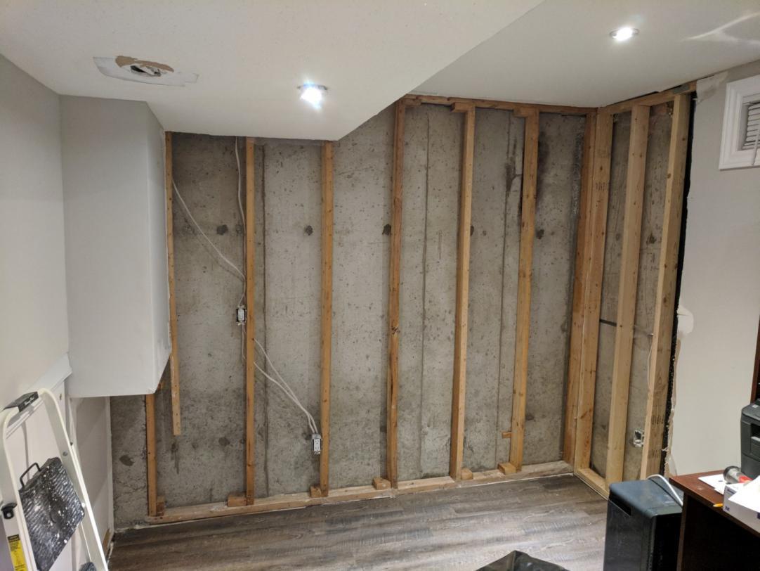Best Way To Insulate Basement Wall Doityourself Community