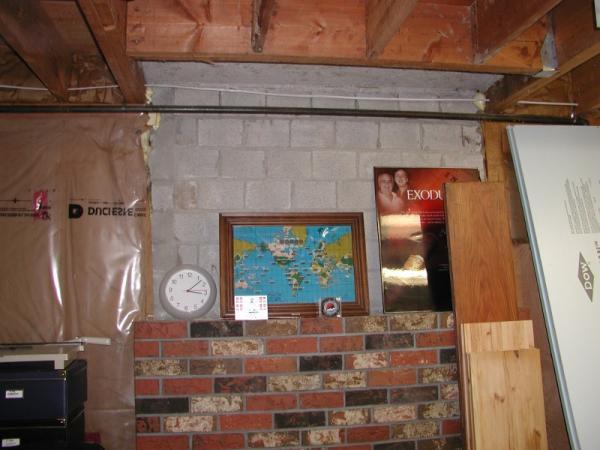 Blue Foam Board Insulation Over Fireplace Doityourself