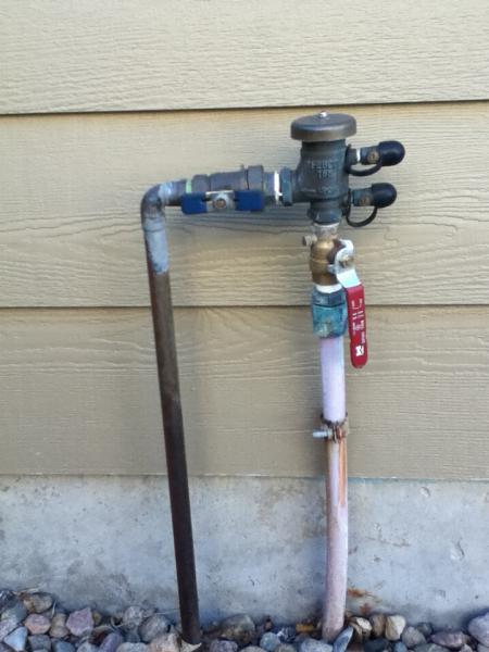 Exterior Sprinkler Heads : Planning out sprinkler head spacing doityourself