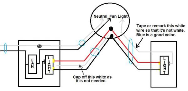 Wiring A 3 Way Switch With Power Into Light on 3 way wall switch wiring diagram