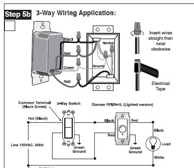 3 Way Switch Wiring Diagram Lutron on wiring diagram for a two way light switch