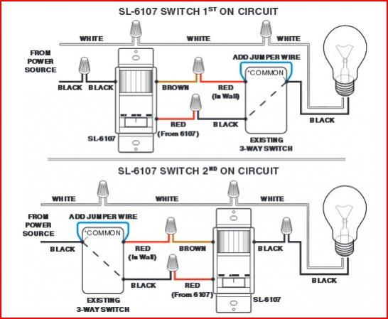 49341d1428985870 problem garage lights two three way light switches 6107 motion detector light switch ir infrared motion sensor automatic Motion Sensor Light Switch Wiring Diagram at edmiracle.co