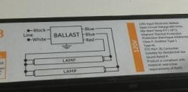 replacing fluorescent light ballast help needed - DoItYourself.com ...