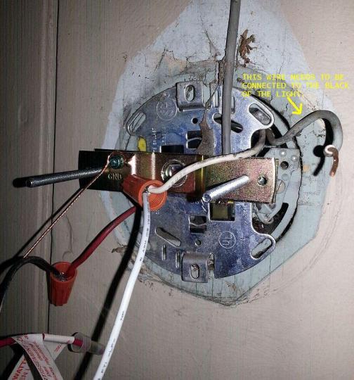 Outdoor Motion Sensing Light Wiring Problems