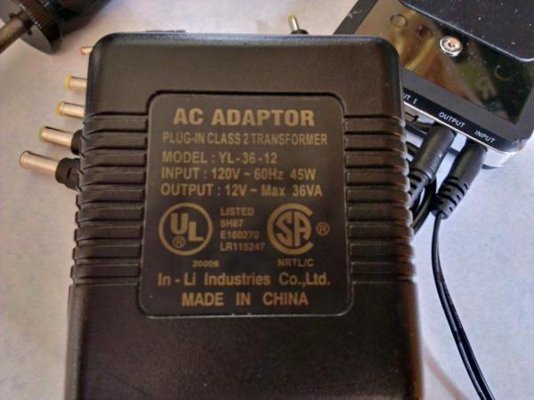 Fried Electronic Christmas Tree Ac Adapter Doityourself