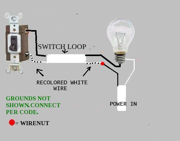 Bathroom Light Ground Wire bathroom vent with light, need help - doityourself community