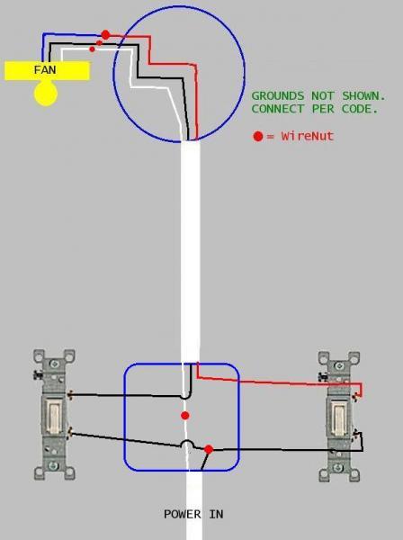 Ceiling Fan Circuit