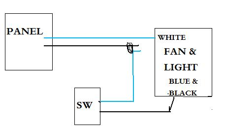 wiring exhaust fan in bathroom doityourself com community forums rh doityourself com wiring exhaust fan in bathroom wiring exhaust fan and light