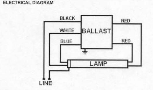 2 Wire Ballast To 5 Wire-- Help