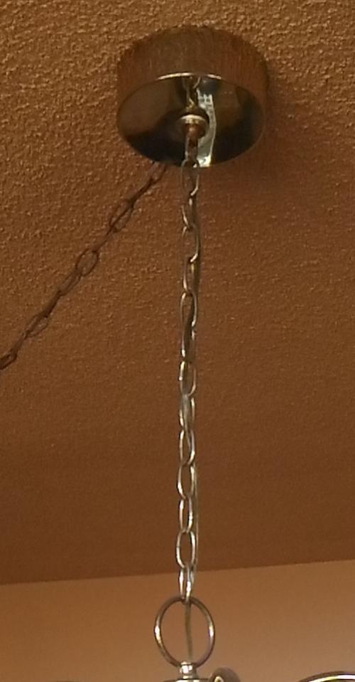 Do It Yourself Lighting: Shortening Chandelier's Chain