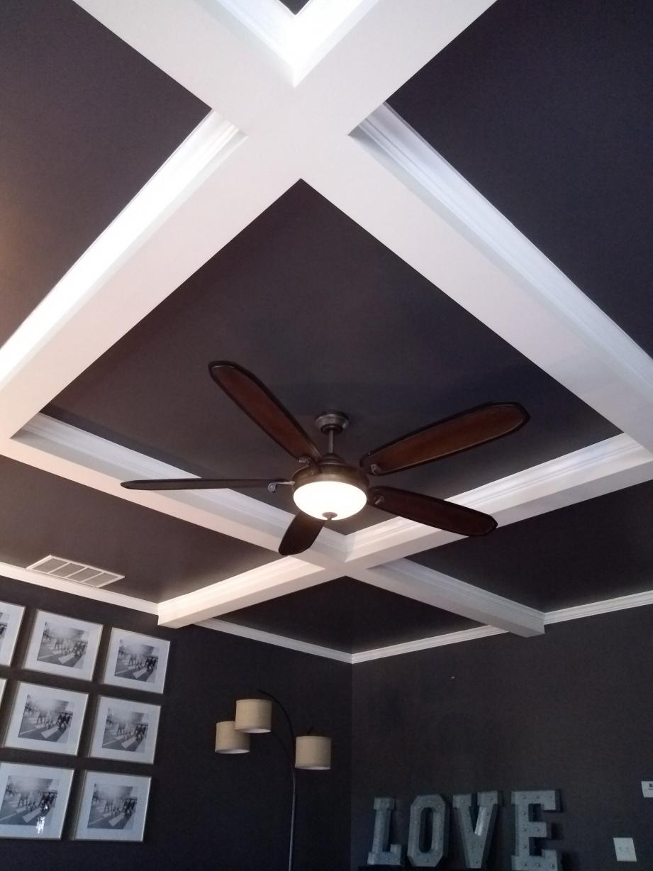 Do It Yourself Lighting: Lack Of Airflow From Ceiling Fan