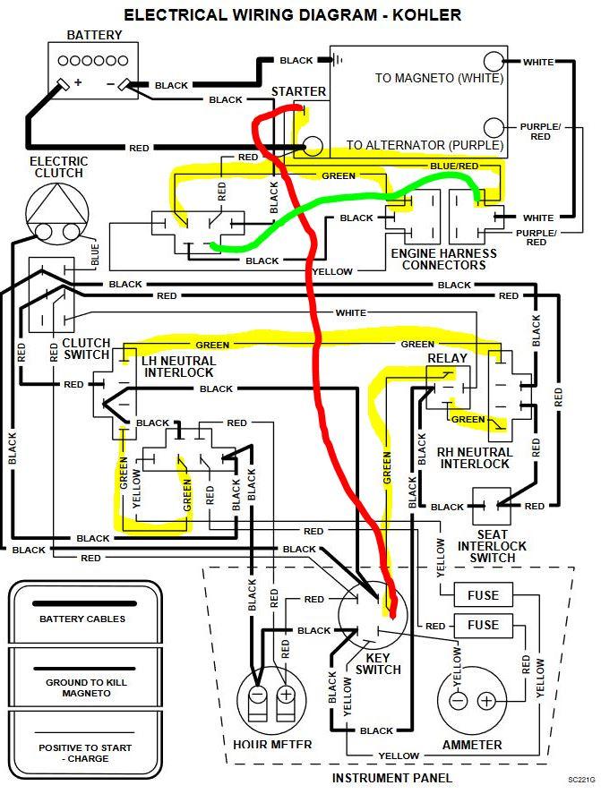 scag engine wiring diagram - h8 wiring harness for wiring diagram schematics  wiring diagram and schematics