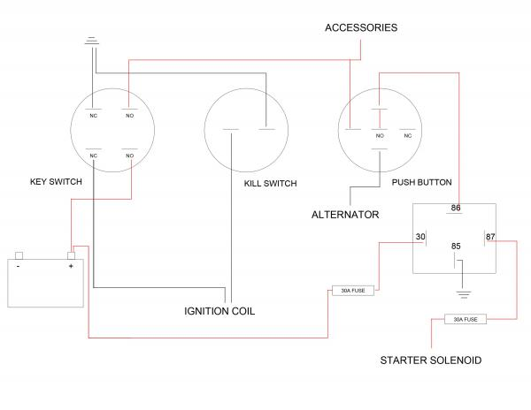 kohler courage pro sv840 27 hp custom ignition wiring Kohler Wiring Diagram Kohler Wiring Diagram #13