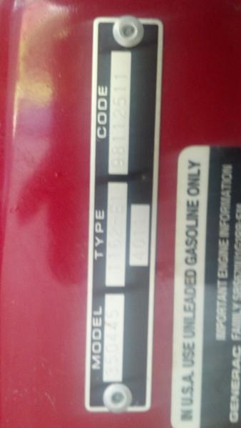 Generac 10000 Exl generator Manual