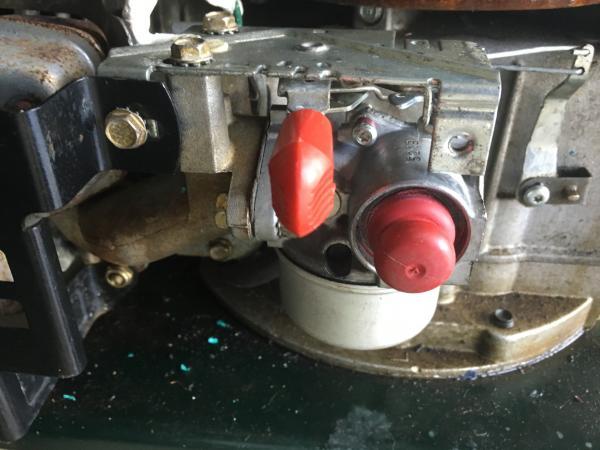 Tecumseh Carburetor Throttle Linkage