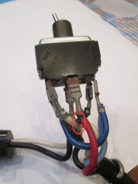 "sunbeam aircap 19"" electric mower 4419b808 switch problem"