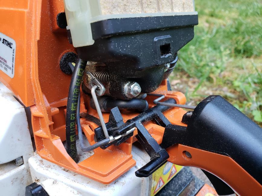 Malfunctioning Chainsaw Cutoff Switch