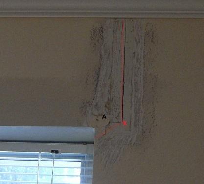 Repairing cracks in sheetrock ceilings foreverfree for Drywall around windows