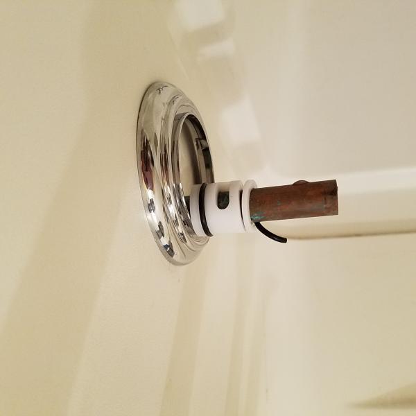 Gap where bath meets drywall DoItYourselfcom Community