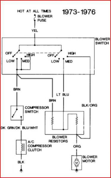 1977    GMC    C25 AC pressor clutch    wiring     DoItYourself Community Forums