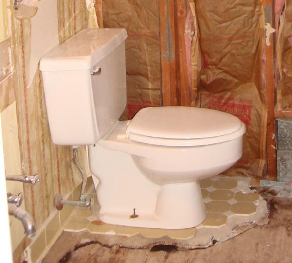 Closet Flange - Replacing Lead Waste Pipe w/o damaging floors ...
