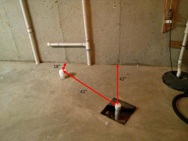 basement bathroom plumbing. Finishing A Rough-in Basement Bathroom: Drains Bathroom Plumbing