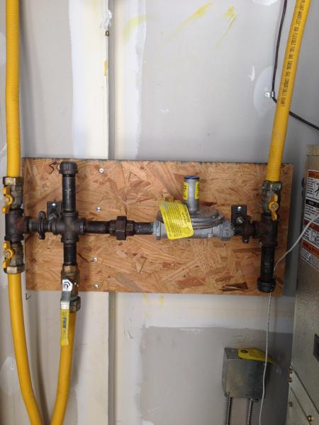 Natural Gas Line To Gas Range Doityourself Com Community
