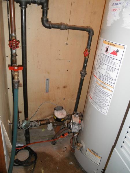 pressure relief valve leaking on hot water tank community forums. Black Bedroom Furniture Sets. Home Design Ideas