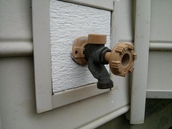 External Faucet Woodford Model 17 Doityourself Com