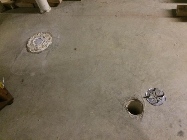 Shower Using 3 Inch Floor Drain Doityourself Com