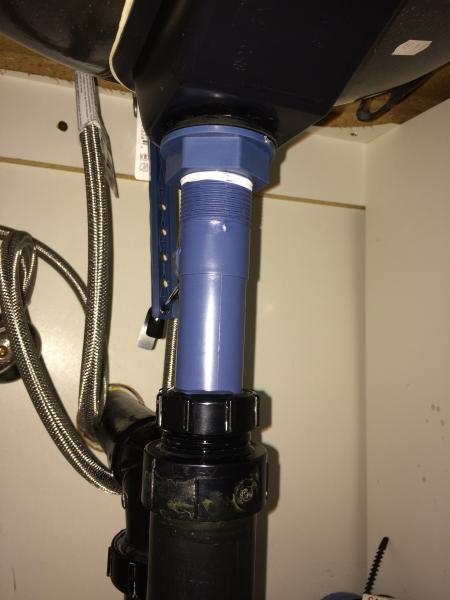 Bathroom Sink Flange Or Gasket Leaking: Bathroom Sink Flange Or Gasket Leaking.