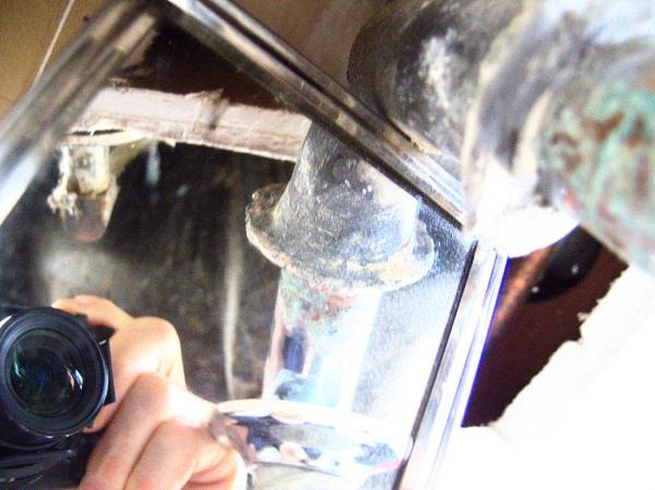 Replacing Chrome Clad Brass Drain Pipe Doityourself Com