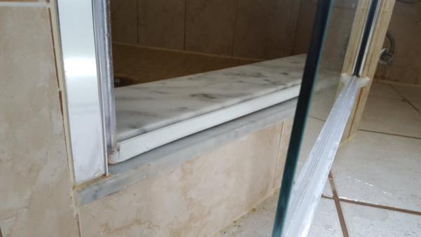 Shower Leaking Through Bottom Of Glass Door DoItYourselfcom - Shower leaking through floor