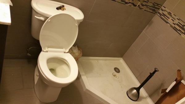 Do It Yourself Plumbing: New Basement Bathroom Draining Problems