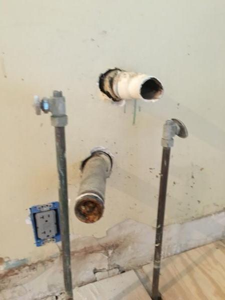 Need Help 2 Separate Drain Lines Under Kitchen Sink