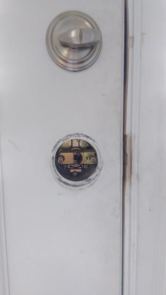 Door knob wont tighten back on DoItYourselfcom Community Forums