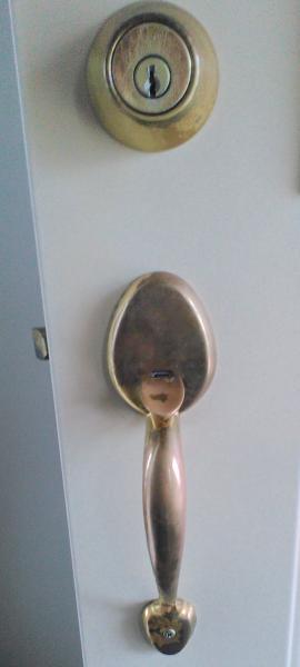 Front Door Handle Sticking Doityourself Com Community Forums