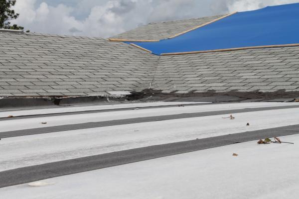Leaking aluminum roof on enclosed florida room