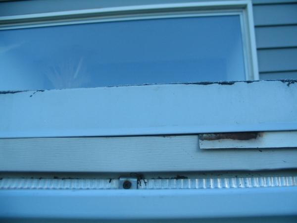 Water Leaking Behind Gutters Tar Gravel Roof