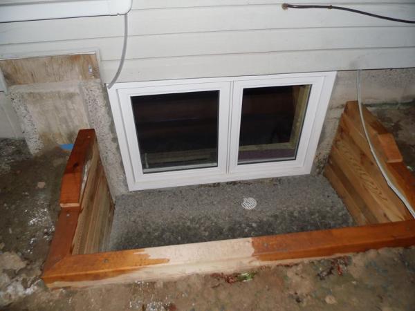 Window Well Drain Distance To Bottom Of Window