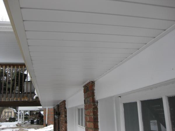 How Best To Fasten Patio Hanging Lights To Metal Soffit