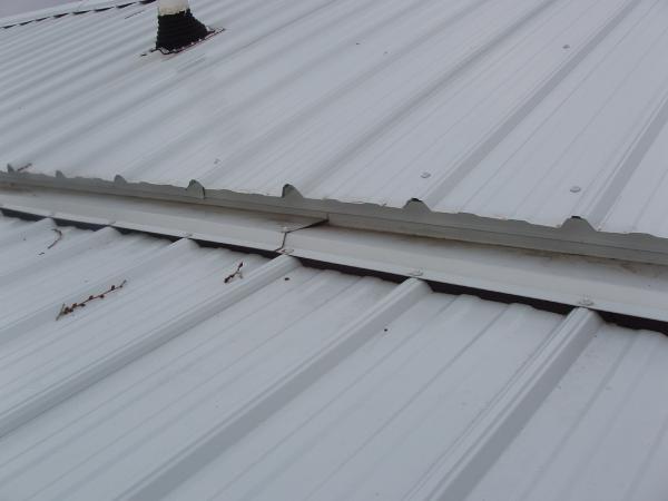 Metal roof leaking help doityourself community forums