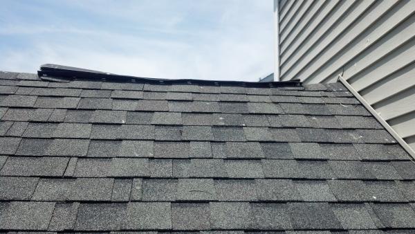 Ridge vent damaged doityourself community forums