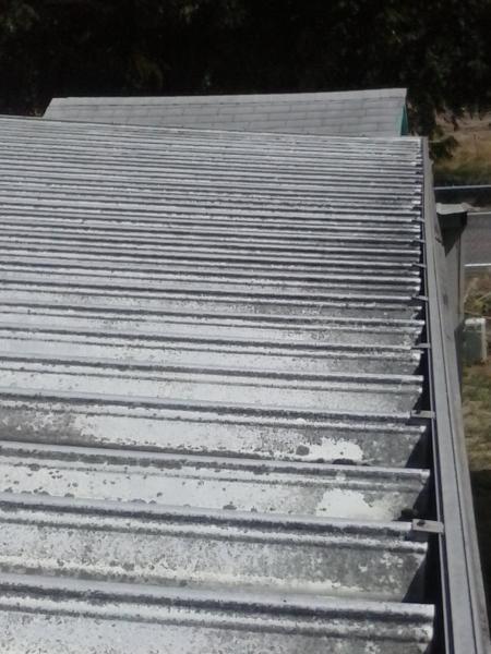 Metal Roof Gutter Cleaning Access Problem Doityourself
