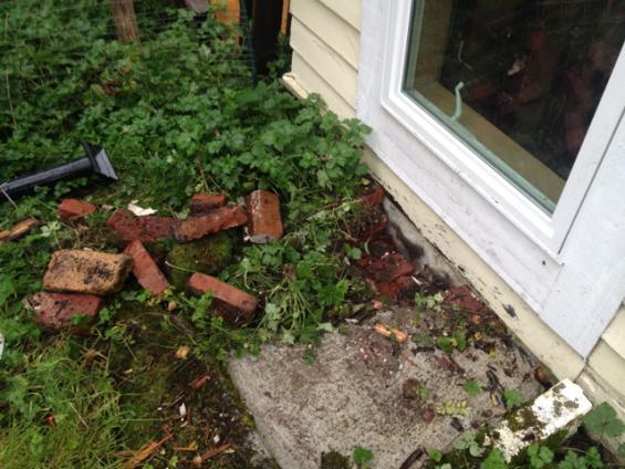Catastrophic Door Removal In Walkout Basement