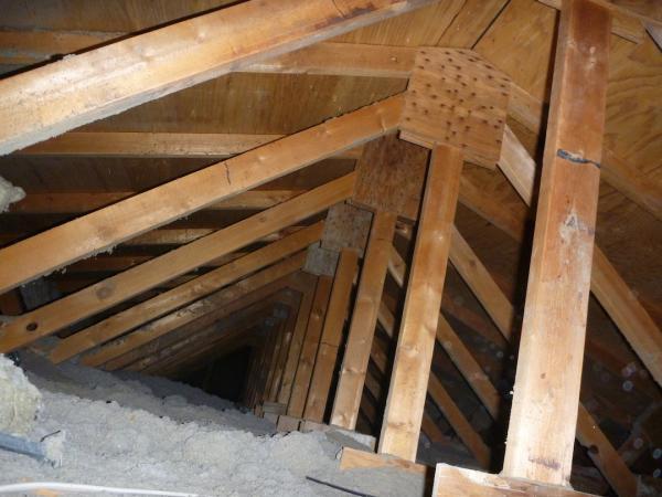 Soft Spot Roof No Water Damage Doityourself Com