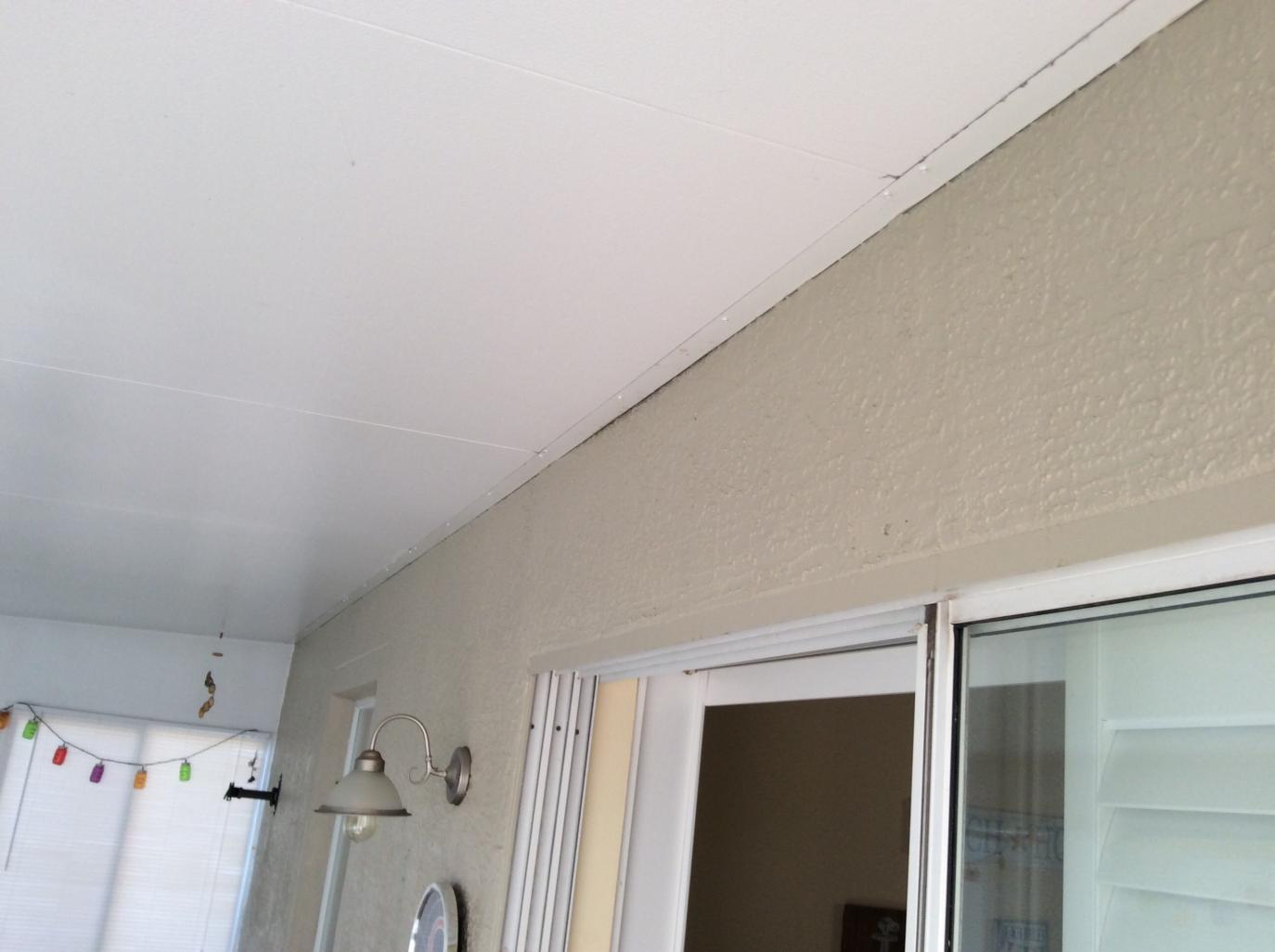 Florida Room Leaking Along Edge Where It Meets House