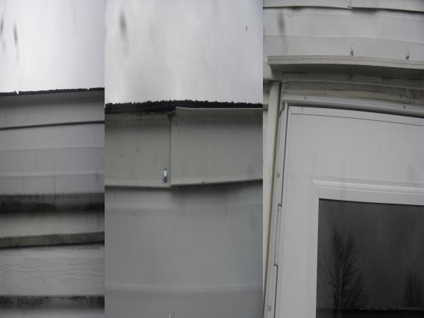 Water leaking behind drywall in mobile home. - DoItYourself ... on mobile home gutter parts, mobile home gutter covers, mobile home gutter installation, mobile home roof gutter, mobile home gutter guards,